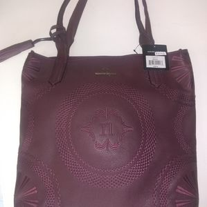 NWT Nanette Lepore Leather Shoulder bag